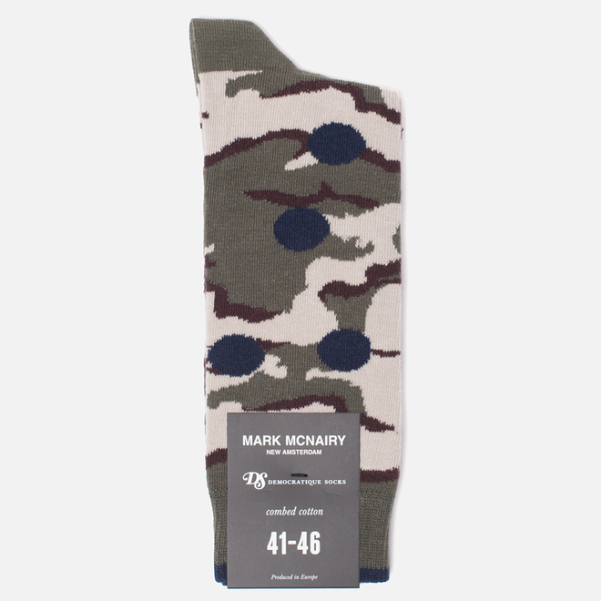 Носки Democratique Socks Camo Dots Army/Navy