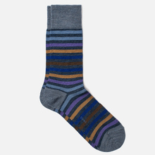Носки Falke Tinted Stripe Blue фото- 0