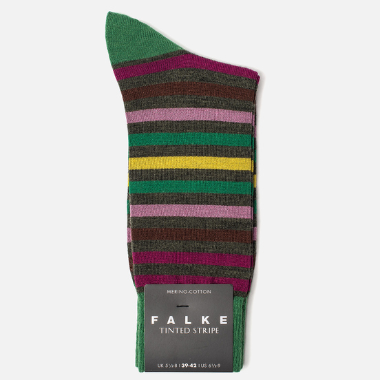 Носки Falke Tinted Stripe Green