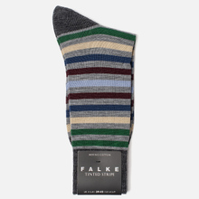 Носки Falke Tinted Stripe Grey/Green фото- 1