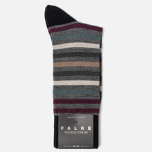 Носки Falke Tinted Stripe Grey/Red фото- 1