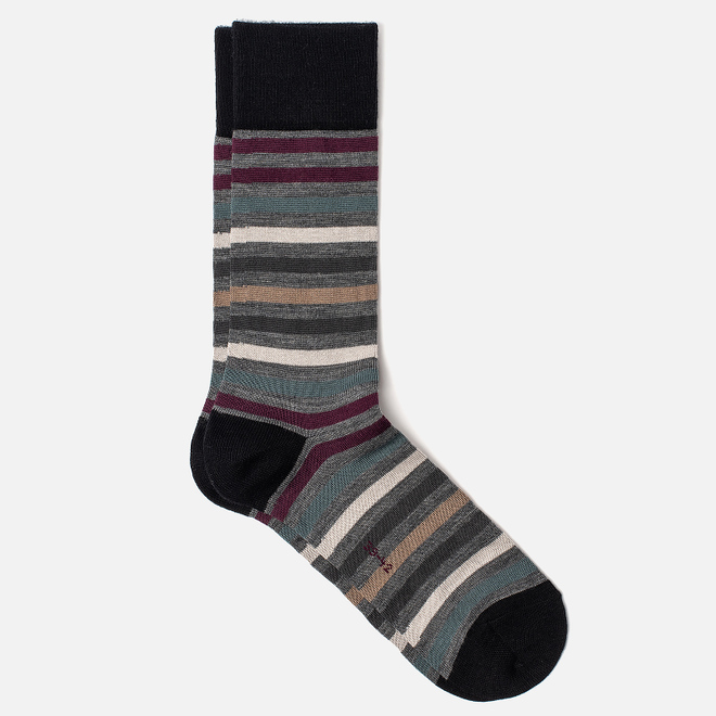 Носки Falke Tinted Stripe Grey/Red