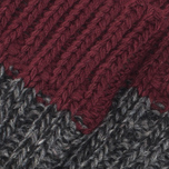 Мужские носки The Hill-Side Calze Dark Grey/Burgundy фото- 2