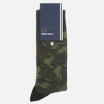 Носки Fred Perry Tonal Camo Hunting Green фото- 0