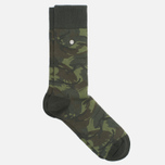 Носки Fred Perry Tonal Camo Hunting Green фото- 1