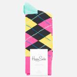 Носки Happy Socks Argyle Black/Blue/Pink/Yellow фото- 0