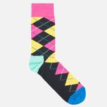 Носки Happy Socks Argyle Black/Blue/Pink/Yellow фото- 2