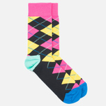 Носки Happy Socks Argyle Black/Blue/Pink/Yellow фото- 1