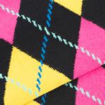 Носки Happy Socks Argyle Black/Blue/Pink/Yellow фото- 3