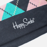 Носки Happy Socks Argyle Blue/Green/Pink/Purple/Turquoise фото- 2