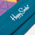 Носки Happy Socks Argyle Green/Purple/Yellow фото- 2
