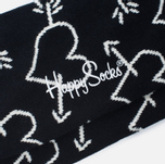 Носки Happy Socks Arrow & Heart Black фото- 2