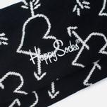 Happy Socks Arrow & Heart Socks Black photo- 2