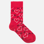 Носки Happy Socks Arrow & Heart Red фото- 1