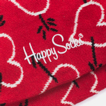 Носки Happy Socks Arrow & Heart Red фото- 2