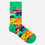 Носки Happy Socks Bark Blue/Green/Orange/Purple/Turquoise/Yellow фото- 1