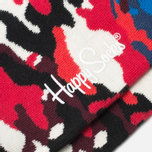 Носки Happy Socks Bark Camo Black/Blue/Red/White фото- 2