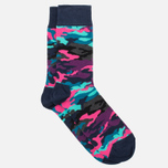 Носки Happy Socks Bark Camo Blue/Green/Grey/Pink/Purple фото- 1