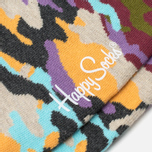 Носки Happy Socks Bark Camo Brown/Grey/Purple/Yellow фото- 2