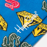 Носки Happy Socks BBC Diamonds & Dollar Green/Red/Yellow фото- 2