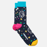 Носки Happy Socks BBC Space Green/Red/Yellow фото- 1
