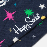 Носки Happy Socks BBC Space Green/Red/Yellow фото- 2