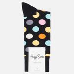Носки Happy Socks Big Dot Black/Blue/Orange/Pink/White/Yellow фото- 0