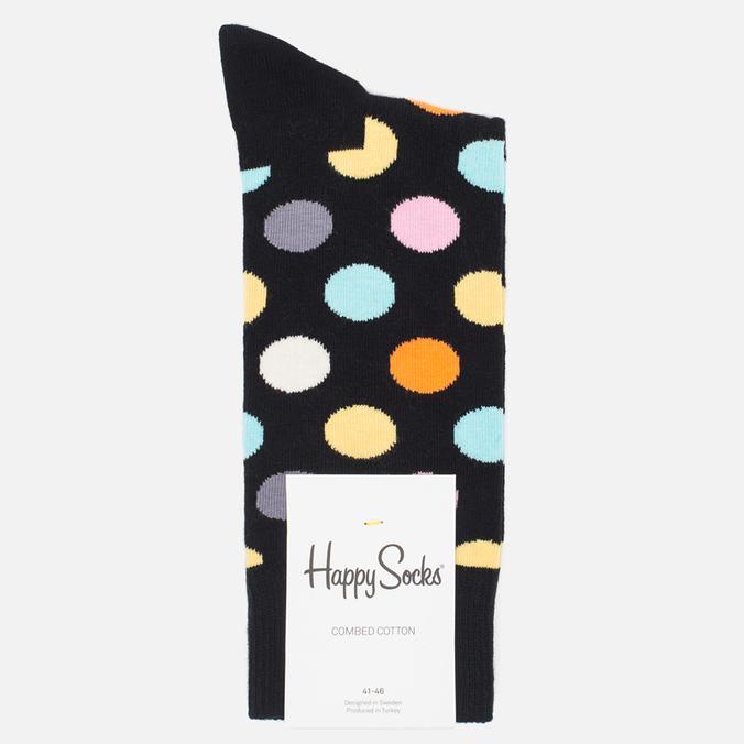 Носки Happy Socks Big Dot Black/Blue/Orange/Pink/White/Yellow
