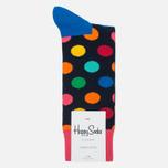 Носки Happy Socks Big Dot Blue/Green/Orange/Pink/Red/Yellow фото- 0