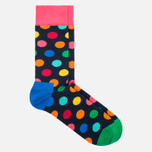 Носки Happy Socks Big Dot Blue/Green/Orange/Pink/Red/Yellow фото- 1
