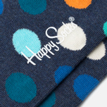 Носки Happy Socks Big Dot Blue/Orange/White фото- 2