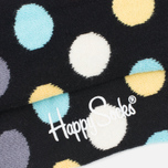 Носки Happy Socks Big Dot Low Black фото- 2