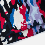 Носки Happy Socks Camo Black/Blue/Red фото- 2