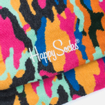 Happy Socks Camo SocksBlack/Orange/Yellow photo- 2