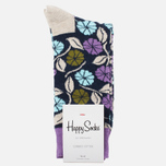 Носки Happy Socks Desert Flower Blue/Green/Grey/Purple фото- 0