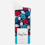 Носки Happy Socks Desert Flower Blue/Red/White фото- 0