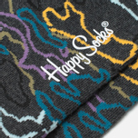 Носки Happy Socks Electric Camo Black/Blue/Grey/Orange фото- 2