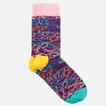 Носки Happy Socks Electric Camo Orange/Pink/Purple/Yellow фото- 1