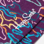 Happy Socks Electric Camo Socks Orange/Pink/Purple/Yellow photo- 2
