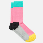 Носки Happy Socks Five Colour Black/Grey/Pink/Yellow фото- 1