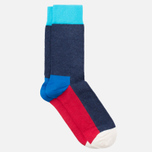 Носки Happy Socks Five Colour Blue/Red/White фото- 1