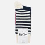 Носки Happy Socks Half Stripe Blue/Red/White фото- 0