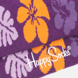 Носки Happy Socks Hawaii Purple/Cream фото- 4