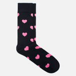 Носки Happy Socks Heart Black фото- 1