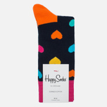 Носки Happy Socks Heart Blue/Orange/Pink/Yellow фото- 0