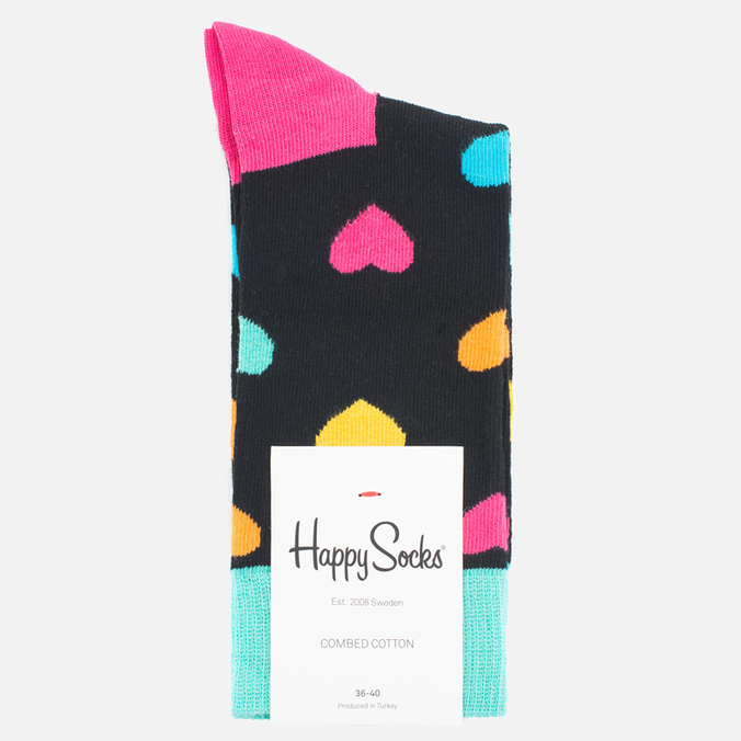 Happy Socks Heart Socks Multicolour