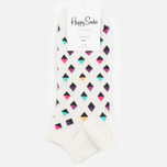 Happy Socks Mini Diamond Low Socks White/Multicolour photo- 0