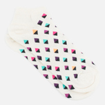 Happy Socks Mini Diamond Low Socks White/Multicolour photo- 1