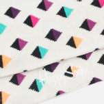 Носки Happy Socks Mini Diamond Low White/Multicolour фото- 2