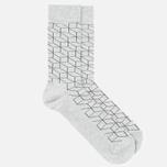 Носки Happy Socks Optic Grey/Black фото- 1
